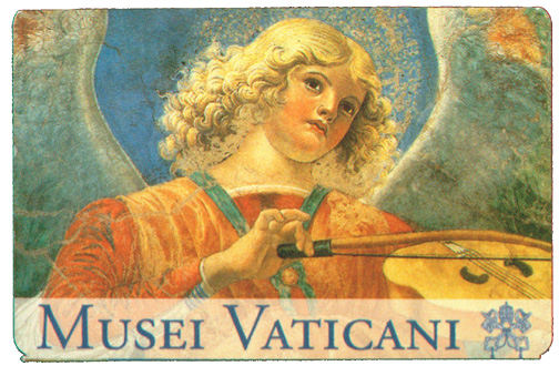 Ticket to the Vatican Museum.
