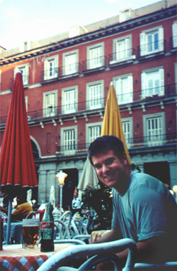 Brian Kleinman in Plaza Mayor