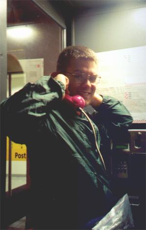 7/2/01, Brian Kleinman on the phone.