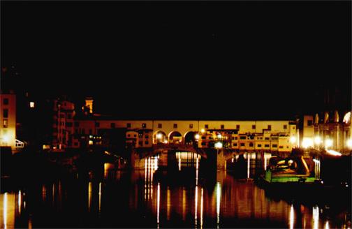 Ponte Vecchio, closer