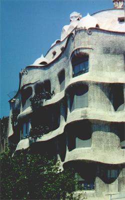 Casa Mila (la Pedrera) (Gaudi)