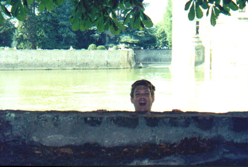 Brian Kleinman at Chateau Chenonceau on the Cher River