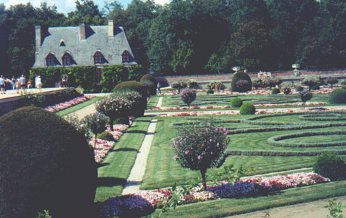 Gardens at Chateau Chenonceau