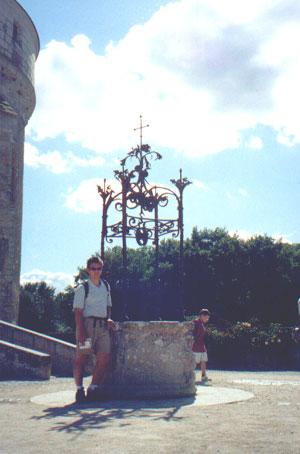 Brian Kleinman at Chateau Chenonceau
