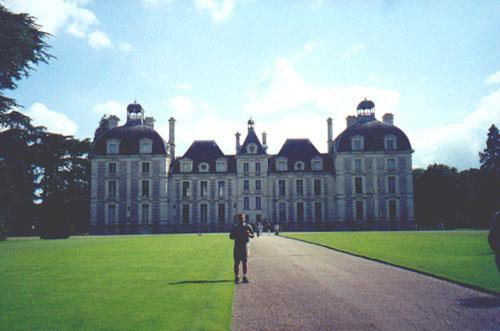 Brian Kleinman at Chateau Cheverny