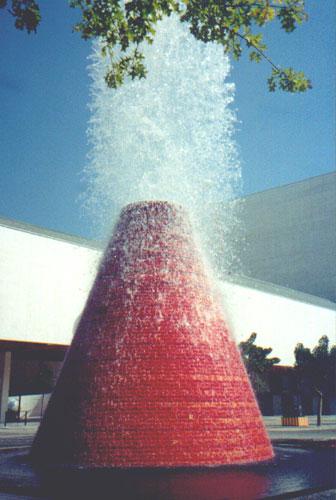 Fountain in Parque das Nações (Park of Nations)
