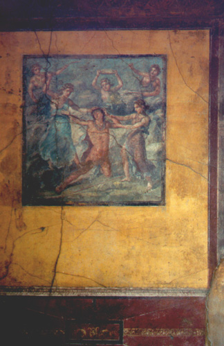 Another fresco in a home.