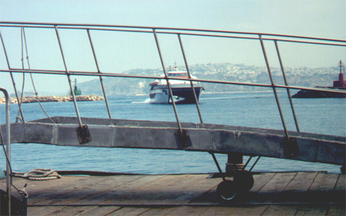 7/12/01: The boat we took to leave Procida Island.