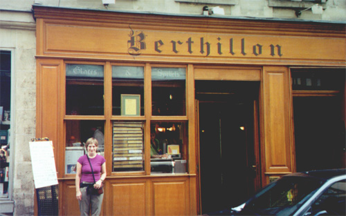 More Berthillon ice cream on Ile St. louis.