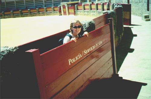 Katie Miller in Plaza de Toros