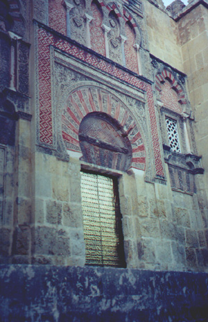 The Mezquita - built in 784 as a mosque, at the time it was the largest in the world. In the 1500s it was converted to a church.