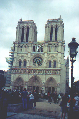 August 20, 2001: Notre Dame Cathedral