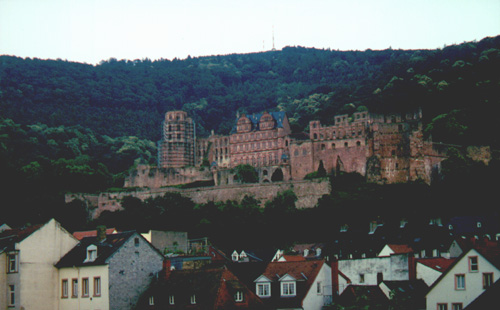 The Heidelberger Schloss (castle)