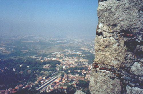 Ruinas do Castelo dos Mouros, Sintra, Portugal