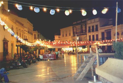 A square in Ronda