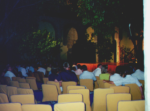 Tablao Cardenal, where we watched the flamenco show