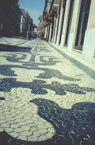 Tile on Rue Augusta
