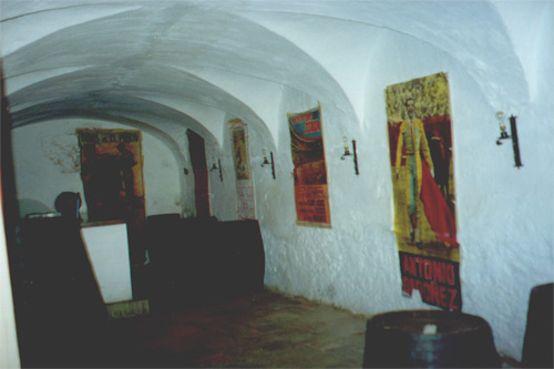 Inside Casa del Rey Moro (House of the Moorish King)